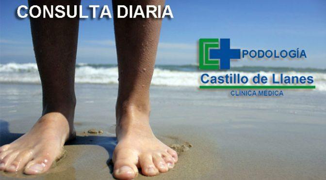 podologo llanes clinica castillo consulta diaria